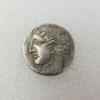 ANCIENT ALEXANDER III THE GREAT GREEK COIN  COIN COLLECTION SILVER PLATED