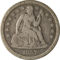 1857-O SEATED LIBERTY DIME GREAT DEALS FROM THE EXECUTIVE COIN COMPANY