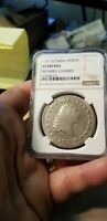 $1 1795 FLOWING HAIR DOLLAR NGC VF DETAILS - BEAUTIFUL COIN