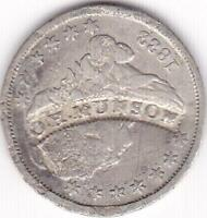 COUNTERSTAMPED 1833 CAPPED BUST DIME O.H. MUNSON GUNSMITH PITTSBURGH PA