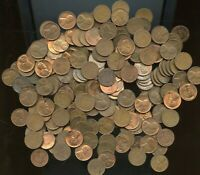 ABOUT 10LB  POUNDS  LOT OF RANDOM AU BU LINCOLN WHEAT CENTS
