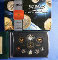 2000 CANADA SILVER PROOF SET ROYAL CANADIAN MINT