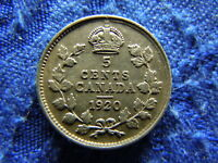 CANADA 5 CENTS 1920 KM22A