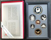 1988 CANADA SILVER DOUBLE DOLLAR PROOF SET   IRONWORKS   ULT
