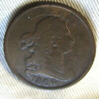1804 DRAPPED BUST HALF CENT