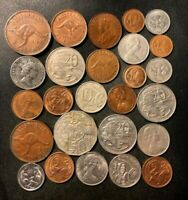 OLD AUSTRALIA COIN LOT   1936 PRESENT   26 EXCELLENT COINS