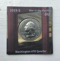 2019 S WAR IN THE PACIFIC QUARTER W/ UNIQUE SAN FRANSISCO LABEL OBVERSE VARIANT