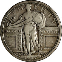 1917-D TYPE 1 STANDING LIBERTY QUARTER GREAT DEALS FROM THE EXECUTIVE COIN COMPA