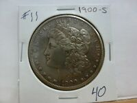 1900-S MORGAN SILVER DOLLAR 11