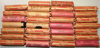 30 ROLLS 1500 UNSEARCHED LINCOLN WHEAT CENTS MIXED DATES & G