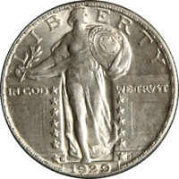 1929-D STANDING LIBERTY QUARTER GREAT DEALS FROM THE EXECUTIVE COIN COMPANY