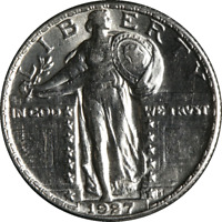 1927-P STANDING LIBERTY QUARTER GREAT DEALS FROM THE EXECUTIVE COIN COMPANY