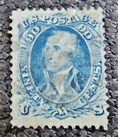 NYSTAMPS US STAMP  72 USED $600