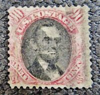 NYSTAMPS US STAMP  122 USED $2250