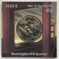 2019 S WAR IN THE PACIFIC QUARTER W/ UNIQUE SAN FRANSISCO LABEL REVERSE VARIANT