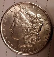 1890 S MORGAN SILVER DOLLAR. BEAUTIFUL.B.U.PROOF LIKE.,NO SPOTS OR SCRATCHES