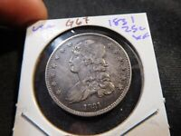 G67 USA 1831 CAPPED BUST QUARTER XF
