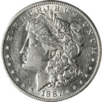 1887-S MORGAN SILVER DOLLAR GREAT DEALS FROM THE EXECUTIVE COIN - BBDM10088
