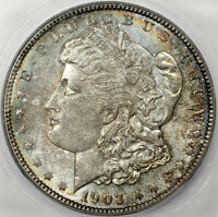 1903 MORGAN DOLLAR SILVER COIN ICG MINT STATE 66 TONED GEM BU UNC BETTER DATE