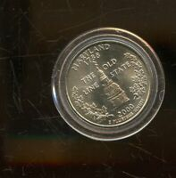 2000 P UNITED STATES MARYLAND STATE QUARTER 25C COIN JD185