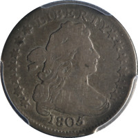 1805 BUST DIME 4 BERRIES PCGS VG10 GREAT EYE APPEAL  STRIKE