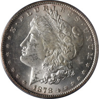 1878-CC MORGAN SILVER DOLLAR PCGS MINT STATE 62 GREAT EYE APPEAL FANTASTIC LUSTER