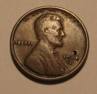 1914 D LINCOLN CENT PENNY   VERY FINE DETAILS   157SA