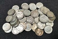 50 SILVER ROOSEVELT DIME COLLECTION LOT $5.00 FACE VALUE 194