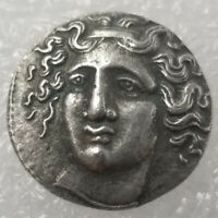 SILVER PLATED GREEK ANCIENT ANIMAL COIN THE GREAT GREEK COIN NO.52