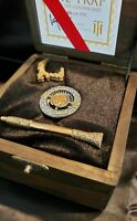 ROMAN BOOTEENTHE TRAP WITH THE GOLDEN BAIT SILVER MORGAN DOLLAR 2 PESO GOLD COIN