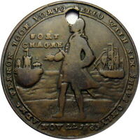 1739 ADMIRAL VERNON FORT CHAGRE PANAMA MEDAL FCV 19 2 R6 HAD