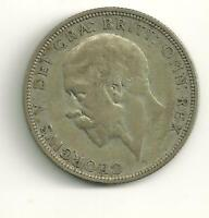 GREAT BRITAIN 1935 ONE FLORIN, TWO SHILLINGS;  SILVER PATINA