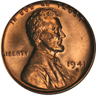 1941-S LINCOLN CENT CHOICE BU - STOCK