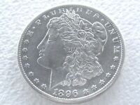 1896-S MORGAN SILVER DOLLAR,  STRONG DETAILS FOR THIS R DATE 12-12-D
