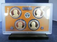 2014 S DOLLAR 4 COIN PROOF SET PRESIDENT HARDING COOLIDGE HOOVER ULTRA CAMEO
