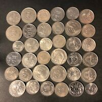 OLD SINGAPORE COIN LOT   1967 PRESENT   36 EXCELLENT COINS