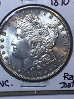 1890-S MORGAN SILVER DOLLAR UNCIRCULATED  DATE  A BEAUTY  LOOK PHOTOS