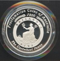 2000 SILVER 1OZ PROOF $1