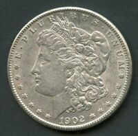 UNITED STATES 1902-O MORGAN SILVER DOLLAR  YOU DO THE GRADING HAVE FUN