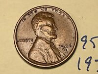 1936 S 1C LINCOLN WHEAT CENT CENT 9564W