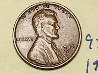 1936 S 1C LINCOLN WHEAT CENT CENT 9259W