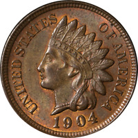 1904 INDIAN CENT GREAT DEALS FROM THE EXECUTIVE COIN COMPANY