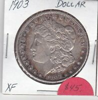 1903 MORGAN DOLLAR  EXTRA FINE  CONDITION