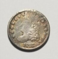 1832 5C UNITED STATES CAPPED BUST HALF DIME