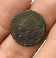 1877 INDIAN HEAD ONE CENT PENNY POOR CONDITION ENVIRONMENTAL