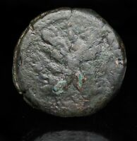ROMAN REPUBLIC. ANONYMOUS AE AS BUST OF JANUS / GALLEY PROW