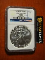 S 2013 $1 American Silver Eagle NGC MS70 San Francisco Core