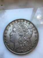 1887 LIBERTY HEAD SILVER DOLLAR
