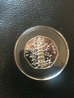 RARE 2009   GENUINE 50P KEW GARDENS COIN GOOD INVESTMENT FOR