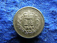 UK 1 5 PENCE 1843 KM728